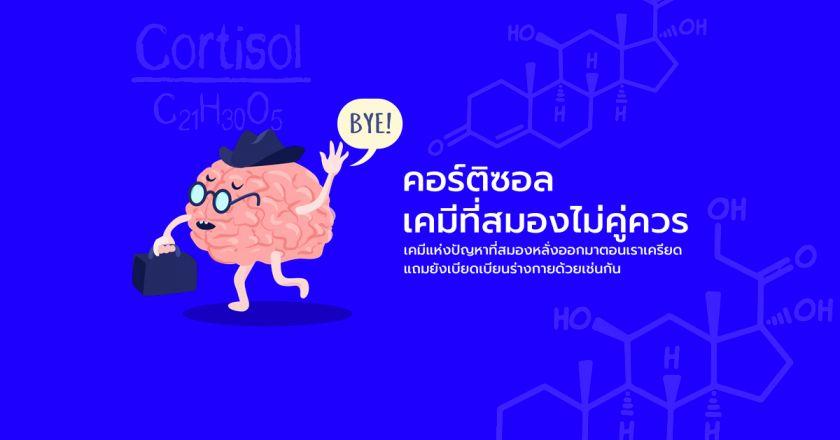 คอร์ติซอล เคมีที่สมองไม่คู่ควร